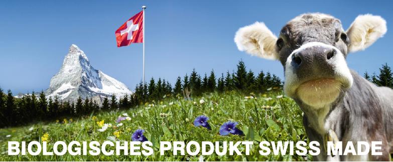 Biologisches Produkt Swiss-Made